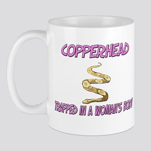 Copperhead Trapped In A Woman's Body Mug