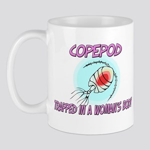 Copepod Trapped In A Woman's Body Mug