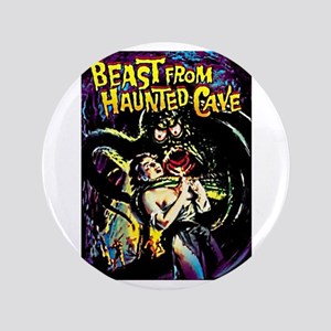 "Beast From Haunted Cave 3.5"" Button"