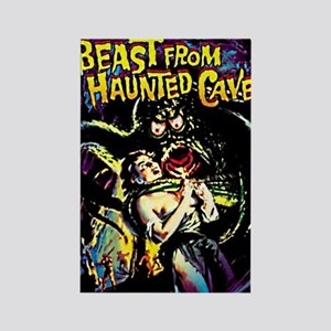 Beast From Haunted Cave Rectangle Magnet