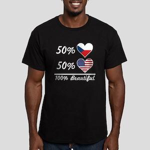 50% Czech 50% American 100% Beautiful T-Shirt