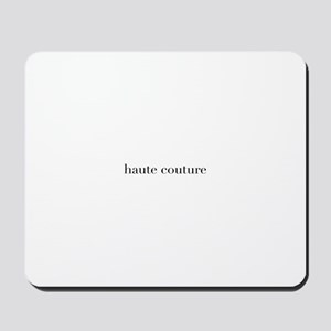 haute couture Mousepad