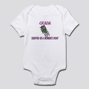 Cicada Trapped In A Woman's Body Infant Bodysuit