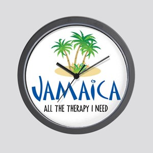 Jamaican Therapy - Wall Clock