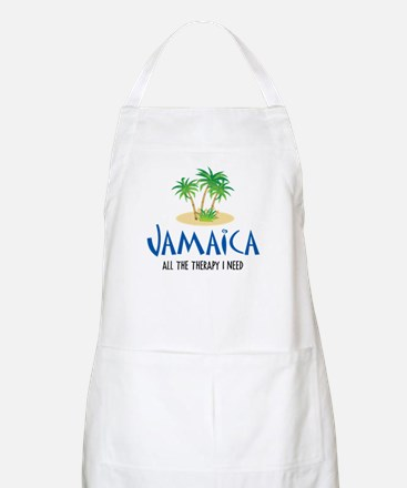 Jamaican Therapy - BBQ Apron