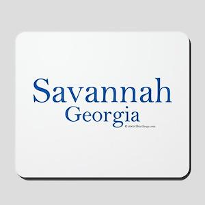 Savannah GA Mousepad