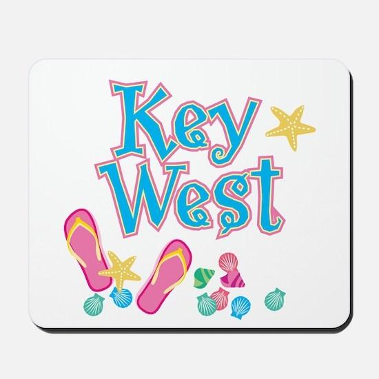 Key West Flip Flops - Mousepad
