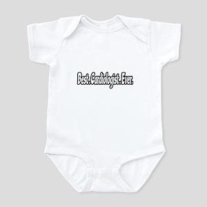 """Best. Cardiologist. Ever."" Infant Bodysuit"