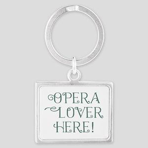 Opera Lover Keychains