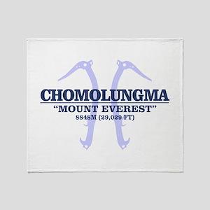 Chomolungma Throw Blanket