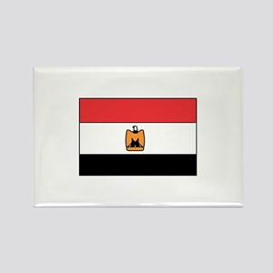 Egyptian Flag Rectangle Magnet