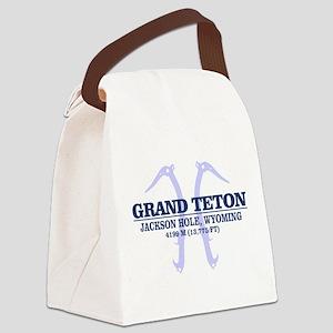 Grand Teton Canvas Lunch Bag