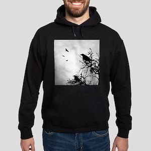 Design 43 crow silhouette Sweatshirt