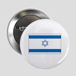 "Israeli Flag 2.25"" Button"