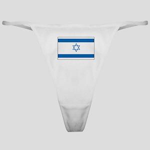 Israeli Flag Classic Thong