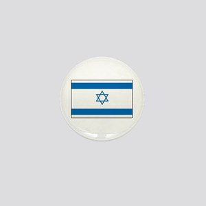 Israeli Flag Mini Button