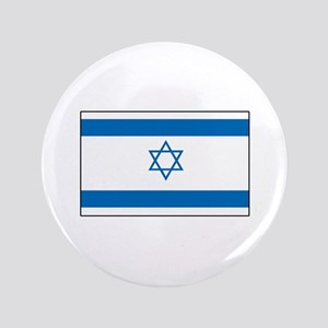 "Israeli Flag 3.5"" Button"