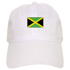 Jamaican Flag Baseball Cap