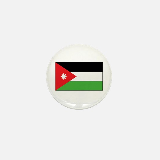 Jordan Flag Mini Button