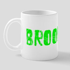 Brookings Faded (Green) Mug