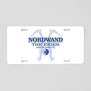 Nordwand Aluminum License Plate