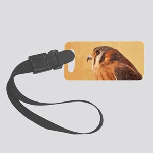 American Kestrel Small Luggage Tag