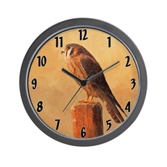 American Kestrel Wall Clock