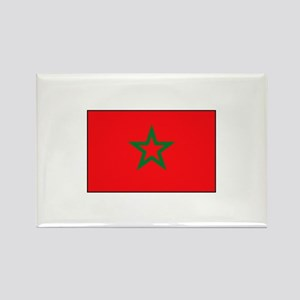 Moroccan Flag Rectangle Magnet