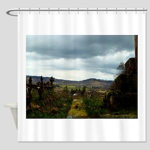 Chagford View Shower Curtain