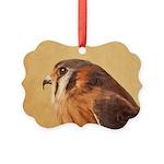 American Kestrel Picture Ornament