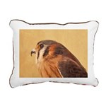 American Kestrel Rectangular Canvas Pillow