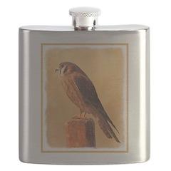 American Kestrel Flask