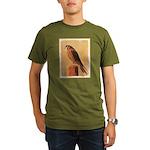 American Kestrel Organic Men's T-Shirt (dark)