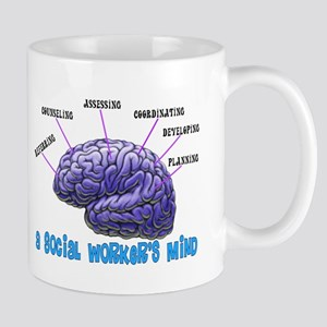 Social Worker III Large Mugs