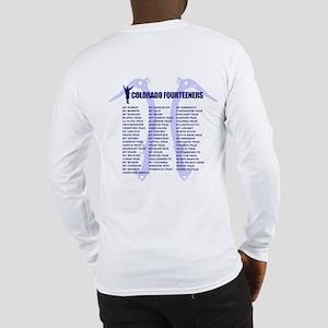 Colorado Fourteeners Long Sleeve T-Shirt