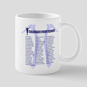 Colorado Fourteeners Mugs
