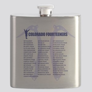 Colorado Fourteeners Flask