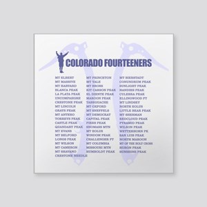 Colorado Fourteeners Sticker