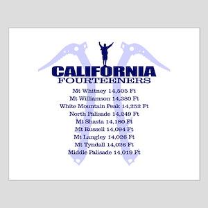 California 14ers Posters