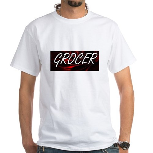 Grocer Professional Job Design T-Shirt