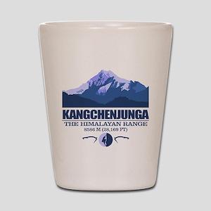 Kangchenjunga Shot Glass