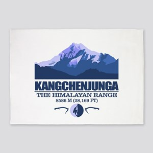 Kangchenjunga 5'x7'Area Rug