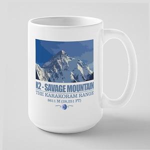 K2 Savage Mountain Mugs