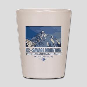 K2 Savage Mountain Shot Glass