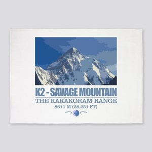 K2 Savage Mountain 5'x7'Area Rug