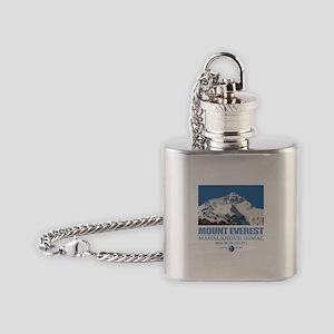 Mount Everest Flask Necklace