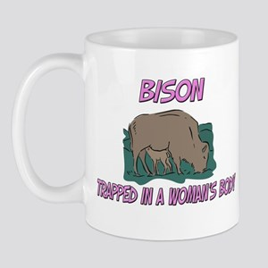 Bison Trapped In A Woman's Body Mug