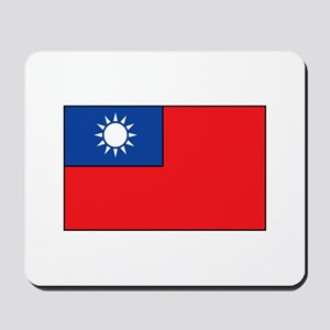 Taiwanese Flag Mousepad