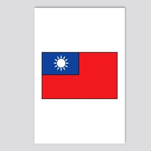 Taiwanese Flag Postcards (Package of 8)