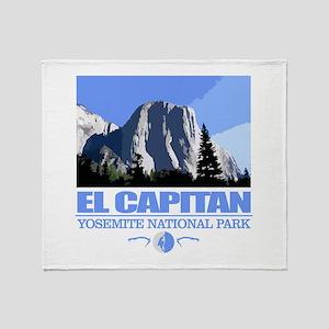 El Capitan Throw Blanket